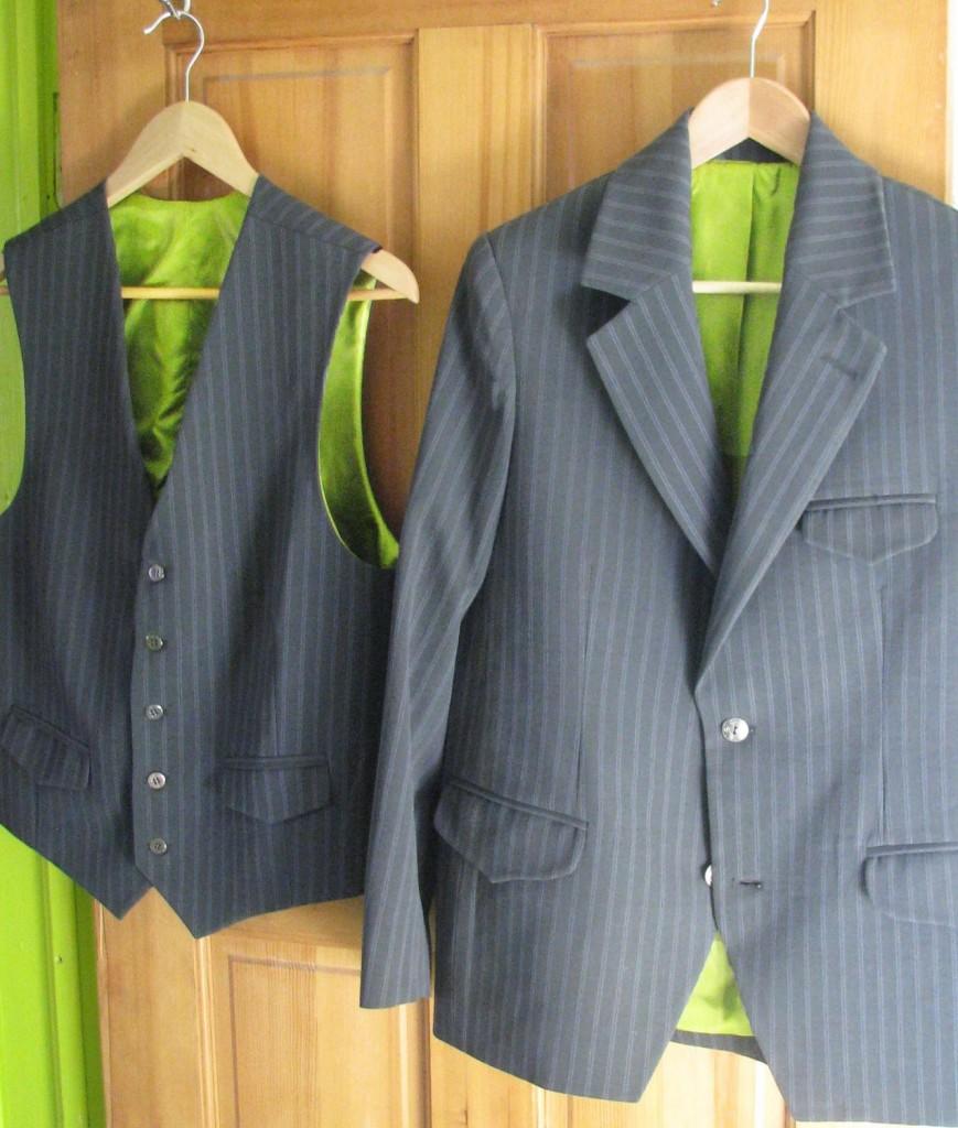 Retro 1970s Style Suit