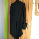Regency Tailcoat in Black Brocade