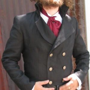 Linen tailcoat