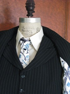 Peak Lapel Vest and Jacket