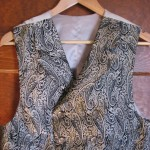 Silver Silk Brocade
