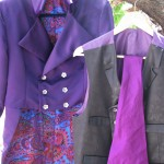 Custom Duchess Satin Tails with Vest and Cravat