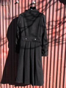 Sherlock BBC coat in black