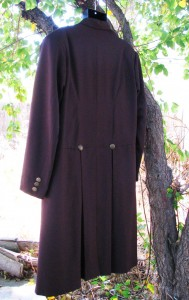 Brown Tropical Wool Morning Coat