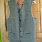 Windowpane Vest