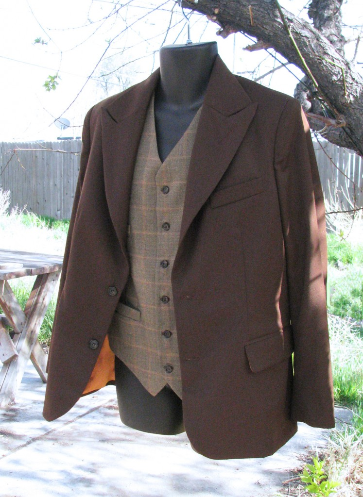 Chocolate Peak Lapel Suit