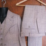 Silk Herringbone Tweed