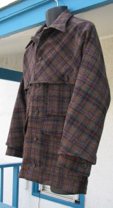 Plaid Flannel Jacket