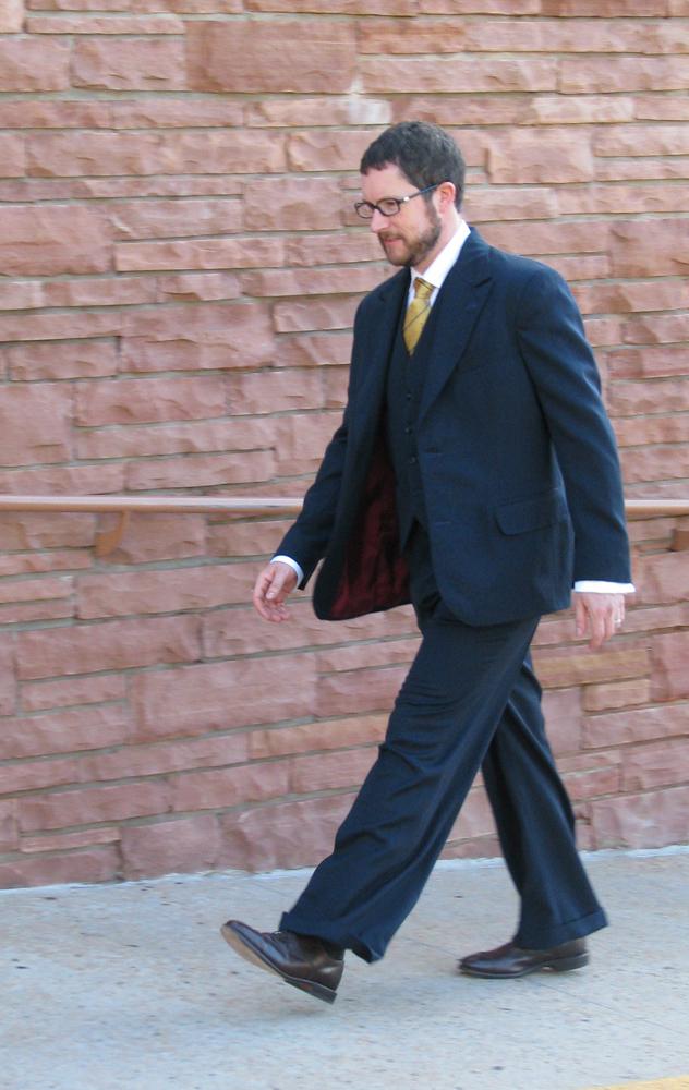 Classic Gabardine Suit