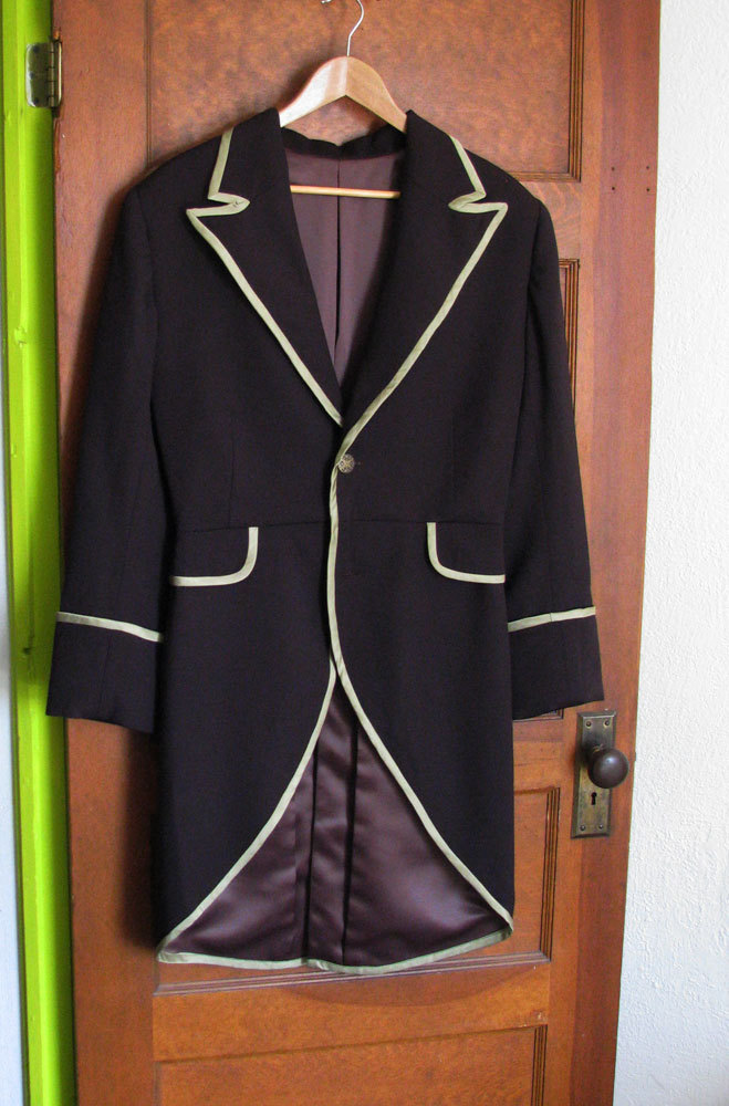 Chocolate Brown Frock Coat