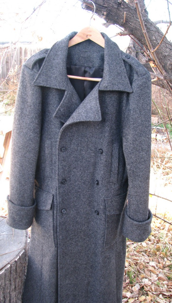 Wool Twill Trenchcoat