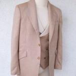 Tan Herringbone Suit