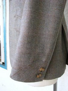 1920s style jacket cuffs