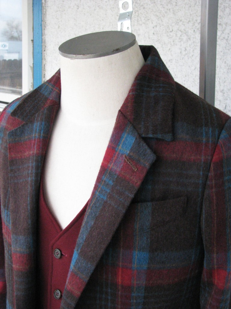 1920s Style Sports Jacket