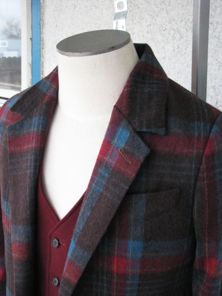 1920s Style Sports Jacket