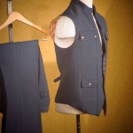 Vest and Pant In Japanese Wool
