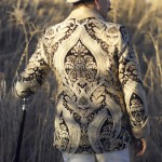 Paisley Brocade Smoking Jacket