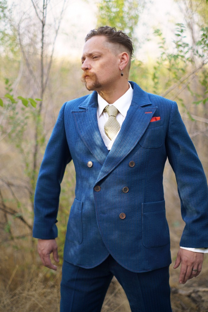 Denim Blue Bespoke Suit