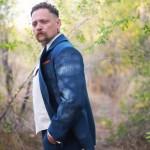 Denim Blue 3pc Suit Pinstriped